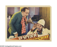 """The Chief (MGM, 1933). Lobby Card (11"""" X 14""""). After spending a life-time as a clown, Ed Wynn showed his drama..."""