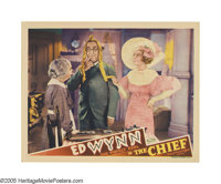 """The Chief (MGM, 1933). Lobby Card (11"""" X 14""""). In the second of only three films Ed Wynn appeared in in the 19..."""