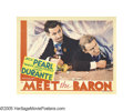 """Movie Posters:Comedy, Meet the Baron (MGM, 1933). Lobby Cards (5) (11"""" X 14""""). These fivelobby cards showcase Jimmy Durante, Jack Pearl, ZaSu Pit... (5Items)"""