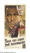 "Dead Reckoning (Columbia, 1947). Italian (38.5"" X 80""). In a further journey into the film noir genre, Humphre..."