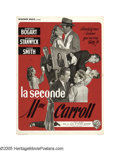 """Movie Posters:Film Noir, Two Mrs. Carrolls (Warner Brothers, 1947). French (23.5"""" X 31""""). Now this poster has something truly special that should app..."""