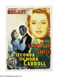 "Movie Posters:Film Noir, Two Mrs. Carrolls (Warner Brothers, 1947). Italian (55"" X 78"").With artwork by Martinati, this spectacular graphic is far s..."