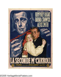 """Movie Posters:Film Noir, Two Mrs. Carrolls (Warner Brothers, 1947). French (47"""" X 63"""").Humphrey Bogart made another psychological murder mystery, no..."""