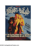 "Movie Posters:Film Noir, Dark Passage (Warner Brothers, 1947). French (47"" X 63""). This wasHumphrey Bogart and Lauren Bacall's third film together a..."