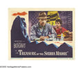 """Movie Posters:Drama, Treasure of the Sierra Madre (Warner Brothers, 1948). Lobby Card(11"""" X 14""""). In John Huston's classic film of greed and its..."""