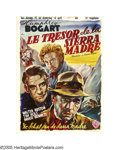 "Movie Posters:Drama, Treasure of the Sierra Madre (Warner Brothers, 1948). Belgian(14.25"" X 19""). Humphrey Bogart, Walter Huston and Tim Holt st..."