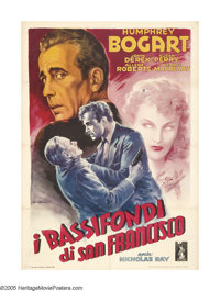 """Knock on Any Door (Columbia, 1949). Italian (39"""" X 55""""). In the first picture for his own production company..."""