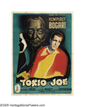 "Movie Posters:Drama, Tokyo Joe (Columbia, 1949). French (47"" X 63""). The inimitablestyle of Rene Peron makes this poster come alive. This was Hu..."