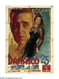 """Sirocco (Columbia, 1951). Italian (39"""" X 55""""). Anselmo Ballester created one of his true masterpieces with thi..."""