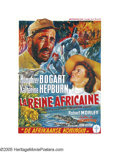 "Movie Posters:Adventure, The African Queen (United Artists, 1952). Belgian (14"" X 19"").Although C.S. Forester's novel was considered by every studio..."