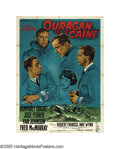 "Caine Mutiny (Columbia, 1954). French (47"" X 63""). This riveting tale of a U.S. naval Captain's descent into i..."