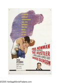 "Movie Posters:Sports, The Hustler (20th Century Fox, 1961). One Sheet (27"" X 41""). The part of ""Fast"" Eddie Felsen earned Paul Newman his first Os..."