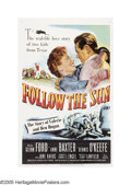 "Follow the Sun (20th Century Fox, 1951). One Sheet (27"" X 41""). A bio-drama of the true story of golf pro Ben..."