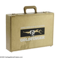 "Goldfinger (United Artists, 1964) Gold Presentation Briefcase (17.5"" X 12.5"" X 4""). If you are looking fo..."