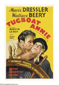 "Movie Posters:Comedy, Tugboat Annie (MGM, 1933). One Sheet (27"" X 41""). Marie Dresslerplays tugboat captain Annie Brennan, married to Terry (Wall..."