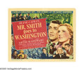 "Movie Posters:Drama, Mr. Smith Goes To Washington (Columbia, 1939). Title Lobby Card(11"" X 14""). James Stewart established himself as a leading ..."