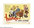 "Movie Posters:Comedy, Harvey (Universal International, 1950). Half Sheet (22"" X 28"").James Stewart plays Elwood P.Dowd, a wealthy and eccentric d..."