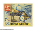 "Movie Posters:Adventure, Wings in the Dark (Paramount, 1935). Lobby Card (11"" X 14""). CaryGrant and Myrna Loy play top-notch pilots in this aviation..."