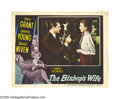 "Movie Posters:Comedy, The Bishop's Wife (RKO, 1948). Lobby Card (11"" X 14""). David Nivenplays an Episcopalian bishop (David Niven), whose prayers..."