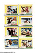 """Movie Posters:Romance, An Affair to Remember (20th Century Fox, 1957). Lobby Card Set of 8 (11"""" X 14""""). Follow this family tree: """"Sleepless in Seat... (8)"""