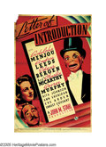 """Movie Posters:Drama, Letter of Introduction (Universal, 1938). Poster (40"""" X 60""""). Adolphe Menjou stars as a Broadway actor trying to make a come..."""