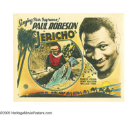 "Jericho (General, 1937). Lobby Card (11"" X 14""). Paul Robeson's accomplishments read like a laundry list of hu..."