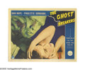 """Movie Posters:Comedy, The Ghost Breakers (Paramount, 1940). Lobby Card (11"""" X 14"""").Before Bob Hope partnered with Bing Crosby, Paramount pushed H..."""