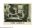 "Movie Posters:Horror, The Ghoul (Gaumont British, 1933). Lobby Cards (3) (11"" X 14""). Ofthe three lobby cards being offered here, one features th... (3Items)"