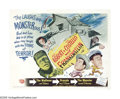 "Movie Posters:Horror, Abbott and Costello Meet Frankenstein (Universal, 1948). Half Sheet(22"" X 28""). In 1948, two of Universal's big breadwinner..."
