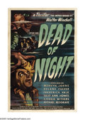 "Movie Posters:Horror, Dead of Night (Universal, 1946). One Sheet (27"" X 41""). Acollection of bizarre tales all wrapped up in the nightmare ofits..."