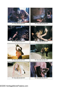 """The Texas Chainsaw Massacre (Bryanston, 1974). Lobby Card Set of 8 (11"""" X 14""""). Leatherface, the chainsaw-wiel..."""