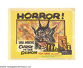 """Movie Posters:Horror, Curse of the Demon (Columbia, 1957). Title Lobby Card (11"""" X 14""""). Jacques Tourneur directed this classic horror film, starr..."""