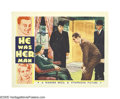 "Movie Posters:Crime, He Was Her Man (Warner Brothers, 1934). Lobby Cards (2) (11"" X14""). James Cagney portrays a gangster hell-bent on revenge, ... (2Items)"