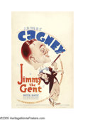 """Movie Posters:Comedy, Jimmy the Gent (Warner Brothers, 1934). Window Card (14"""" X 22"""").James Cagney brought his usual snappy patter to a new high ..."""