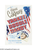"Movie Posters:Musical, Yankee Doodle Dandy (Warner Brothers, 1942). One Sheet (27"" X 41"").The sort-of-true life story of George M. Cohan won an Os..."