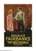 "Movie Posters:Adventure, The Mollycoddle (United Artists, 1920). One Sheet (27"" X 41"").After finishing his first costume swashbuckler ""The Mark of Z..."