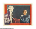"""Movie Posters:Science Fiction, The Day the Earth Stood Still (20th Century Fox, 1951). Lobby Card(11"""" X 14""""). Robert Wise directed this close-encounter cl..."""