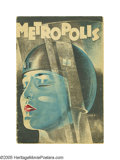 Movie Posters:Science Fiction, Metropolis (UFA, 1927). Program (Multiple Pages). Fritz Lang'smasterpiece presents a dystopian world that would influence f...