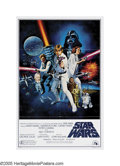"""Movie Posters:Science Fiction, Star Wars (20th Century Fox, 1976). One Sheet (27"""" X 41"""") Style C. While most fans are familiar with the original poster des..."""