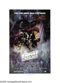 "Movie Posters:Science Fiction, The Empire Strikes Back (20th Century Fox, 1980). One Sheet (27"" X41"") Style A. This particular style one sheet is very har..."