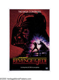 "Movie Posters:Science Fiction, Revenge of the Jedi (20th Century Fox, 1982). One Sheet (27"" X 41"") Advance. Apparently, ""Revenge"" is only for Siths. When c..."