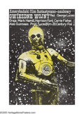 "Movie Posters:Science Fiction, Star Wars (20th Century Fox, 1978). Polish (26.5"" X 39""). Originally, George Lucas intended C-3PO to be slick and fast-talki..."