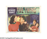 """The Thing From Another World (RKO, 1951). Lobby Cards (3) (11"""" X 14""""). An alien spaceship crash lands in the a..."""