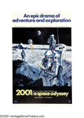 """Movie Posters:Science Fiction, 2001: A Space Odyssey (MGM, 1968). One Sheet (27"""" X 41"""") Style B.This classic film which takes us from the dawn of man to b..."""