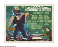 """Movie Posters:Science Fiction, Forbidden Planet (Loews-MGM, 1956). Title Lobby Card (11"""" X 14"""").Though the 3-D craze had ended soon before, when this film..."""