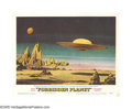 "Movie Posters:Science Fiction, Forbidden Planet (Loews-MGM, 1956). Lobby Card (11"" X 14""). Manyconsider this movie to be one of the finest science fiction..."