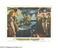"""Movie Posters:Science Fiction, Forbidden Planet (Loews-MGM, 1956). Lobby Card (11"""" X 14""""). Thehuge success of this film was mostly due to its mechanized p..."""