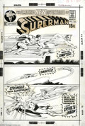 Original Comic Art:Covers, Neal Adams - Superman #235 Cover Original Art (DC, 1971). It couldbe made of magic, or maybe it's the relic of some forgott... (2items)