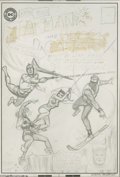 Original Comic Art:Covers, Murphy Anderson - The Brave and the Bold #62 Cover Preliminary Original Art (DC, 1965). Few covers can match the fannish thr...