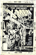 Original Comic Art:Covers, John Byrne and Terry Austin - X-Men #114 Cover Original Art(Marvel, 1978). This is the first X-Men cover by the team of Joh...